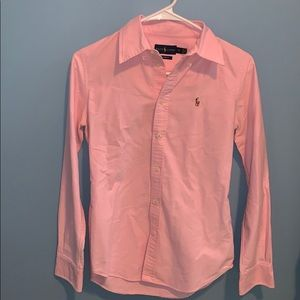 Ralph Lauren button down shirt size extra small